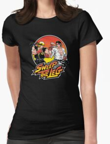 Sweep the Leg Womens Fitted T-Shirt