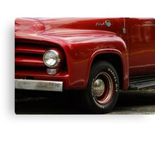 Candy Apple and Chrome Canvas Print