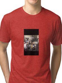 RE3:Nemesis Double Trouble!  Tri-blend T-Shirt