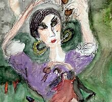The Gypsy Woman will Steal your Soul by Barbara Mann