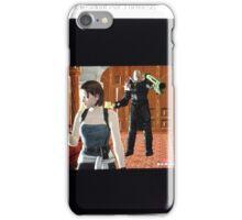 RE3:Nemesis Behind U, Jill! iPhone Case/Skin