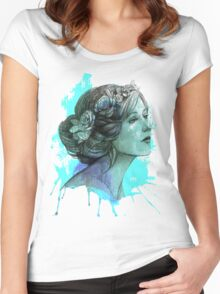 Women art Women's Fitted Scoop T-Shirt