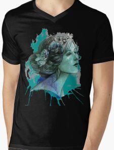 Women art Mens V-Neck T-Shirt