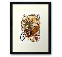 The Adventure of the Solitary Cyclist Framed Print