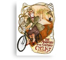 The Adventure of the Solitary Cyclist Canvas Print