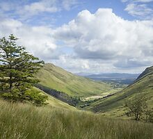 Glengesh Pass by Marie Carr