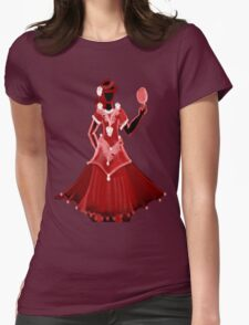 Red Dress with rose T-Shirt
