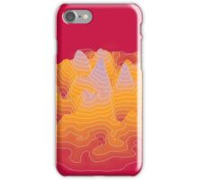 geography for the waiting unknown b iPhone Case/Skin