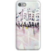 City street scene landscape iPhone Case/Skin