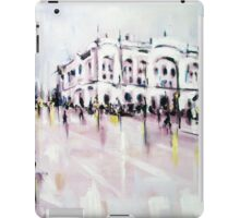 City street scene landscape iPad Case/Skin