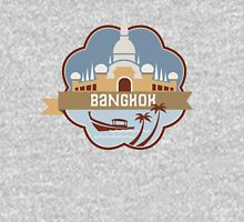 Bangkok Thailand Retro Badge Unisex T-Shirt