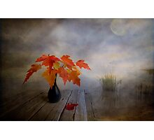 Autumn morning Photographic Print