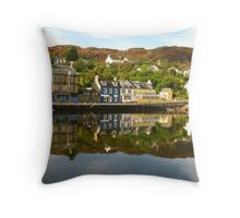 Tarbert, Argyll & Bute ~ Yes, Scottish Weather Throw Pillow