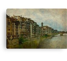Firenze  Tuscany Canvas Print