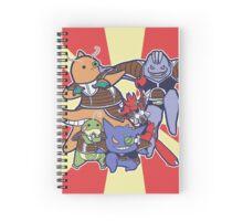 Pokemon Ginyu Force! Spiral Notebook