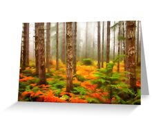 Forest 30 Greeting Card