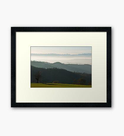 Autumn/Winter Afternoon Framed Print