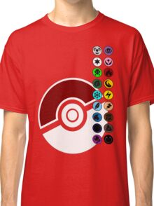 Pokemon Pokeball Energy Complete  Classic T-Shirt
