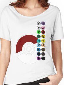 Pokemon Pokeball Energy Complete  Women's Relaxed Fit T-Shirt