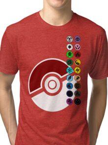 Pokemon Pokeball Energy Complete  Tri-blend T-Shirt