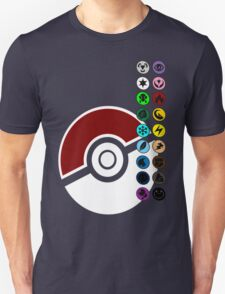 Pokemon Pokeball Energy Complete  Unisex T-Shirt