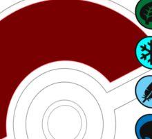 Pokemon Pokeball Energy Complete  Sticker