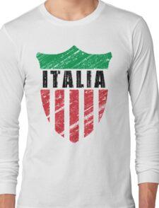 Vintage Italy Emblem Long Sleeve T-Shirt