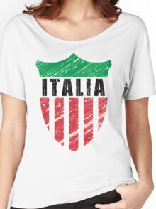 Vintage Italy Emblem Women's Relaxed Fit T-Shirt