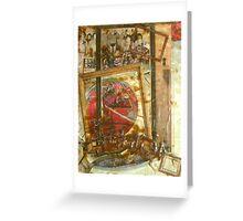 Thou Shalt Not Covet Thy Buddha's Neighbor Greeting Card