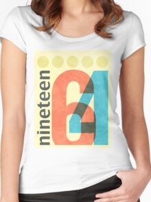 Nineteen 64 Women's Fitted Scoop T-Shirt