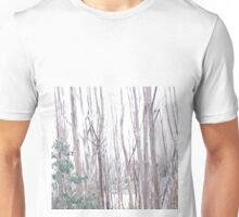 Trees and snow Unisex T-Shirt