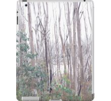 Trees and snow iPad Case/Skin
