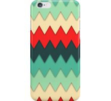 Colorful Zig Zags iPhone Case/Skin