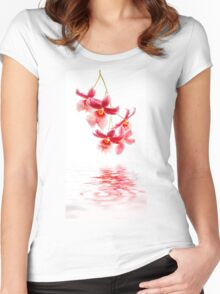 Orchid - 10 Women's Fitted Scoop T-Shirt