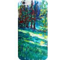 Nature shadows landscape iPhone Case/Skin