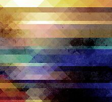 Abstract Geometry of Colors by Phil Perkins