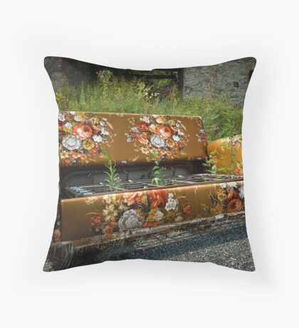 Dumped Throw Pillow