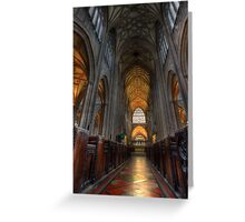 St Mary Redcliffe Church Greeting Card
