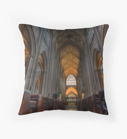 St Mary Redcliffe Church Throw Pillow