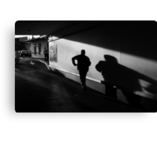 The Shadow Canvas Print