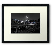 The Great Space Coaster Framed Print