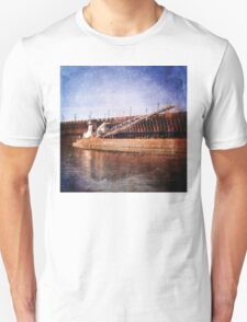 Vintage Great Lakes Freighter Unisex T-Shirt
