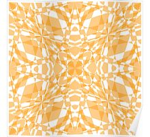 Yellow marble Poster