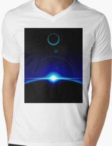 Solar Scene Mens V-Neck T-Shirt