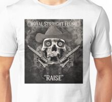 Royal Straight Flush Unisex T-Shirt