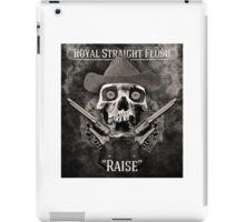 Royal Straight Flush iPad Case/Skin