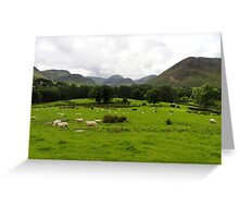 Rural Scene Greeting Card