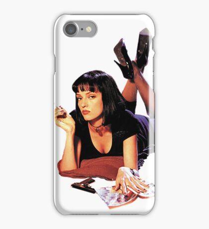 Uma Thurman Pulp Fiction Trasparent Png  iPhone Case/Skin