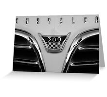 Chrysler 300 Greeting Card
