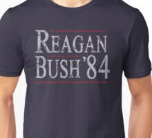 Retro Reagan Bush '84 Unisex T-Shirt